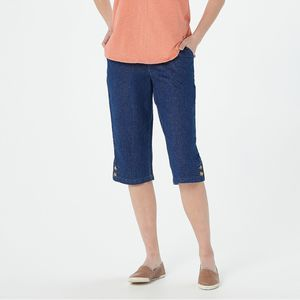 DENIM & CO Pedal Pusher Jeans